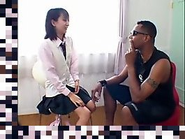 interracial japanese threesome